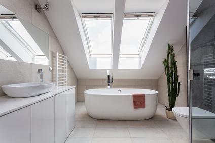 30 Oct Attic Bathroom Ideas