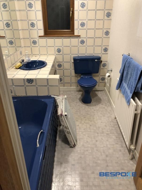 Castelknock bathroom renovation before