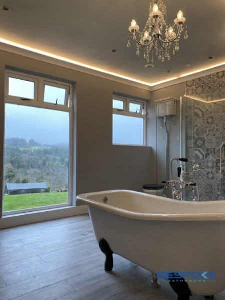 Luxury bathroom Delgany