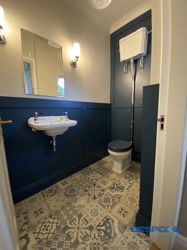 luxury toilet in Delgany