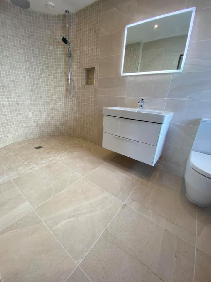 bathrooms completed wetroom knocklyon